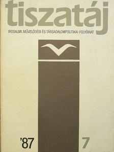 Bajkay Éva - Tiszatáj 1987. július [antikvár]