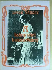 Lovik Károly - A leányvári boszorkány [antikvár]