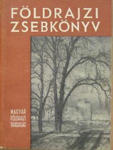 Abella Miklós - Földrajzi zsebkönyv 1959 [antikvár]