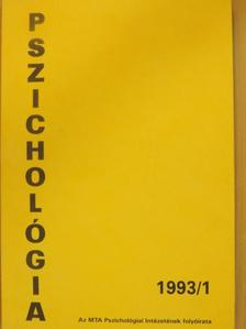 Csorba János - Pszichológia 1993/1. [antikvár]