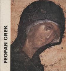 Ruzsa György - Feofan Grek [antikvár]