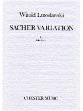 LUTOSLAWSKI, WITOLD - SACHER VARIATION FOR SOLO CELLO
