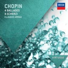 Chopin - 4 BALLADES 4 SCHERZI CD ASHKENAZY