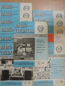 Bassó Andor - Rádiótechnika 1981. január-december [antikvár]