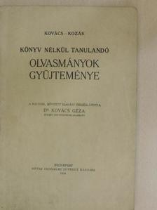Ábrányi Emil - Könyv nélkül tanulandó olvasmányok gyüjteménye [antikvár]