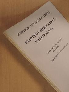 Kardos Jánosné - Filozófiai kifejezések magyarázata [antikvár]