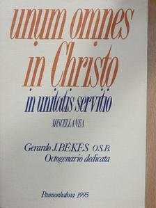 Ádám Somorjai - Unum omnes in Christo in Unitatis Servitio I. [antikvár]