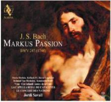 Bach - MARKUS PASSION 2CD SAVALL