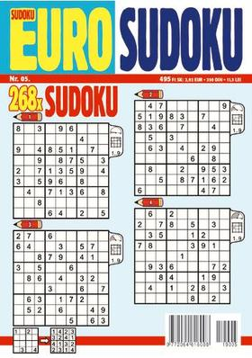 CSOSCH KIADÓ - EURO Sudoku 2019/5