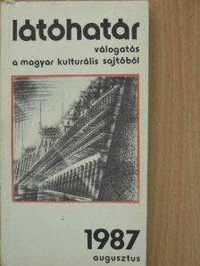 Bertók László - Látóhatár 1987. augusztus [antikvár]