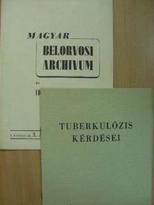 Dr. Faragó István - Magyar Belorvosi Archivum és Ideggyógyászati Szemle 1952. szeptember [antikvár]