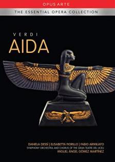 Verdi - AIDA DVD MARTINEZ