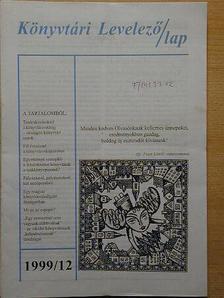 Csáti Péterné - Könyvtári Levelező/lap 1999. január-december [antikvár]