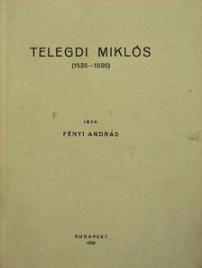 Fényi András - Telegdi Miklós [antikvár]