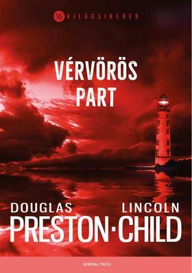 Lincoln Child - Vérvörös part [antikvár]