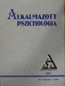 Berkics Mihály - Alkalmazott Pszichológia 2001/1. [antikvár]