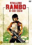 Rambo I-II-III 3 DVD díszdoboz