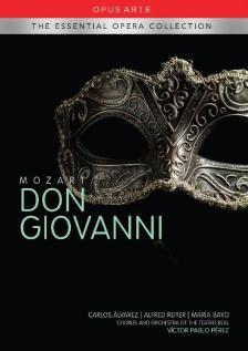 MOZART - DON GIOVANNI DVD PÉREZ