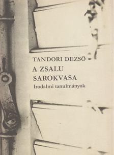 TANDORI DEZSŐ - A zsalu sarokvasa [antikvár]