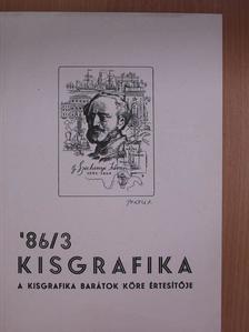 Dr. Drahos István - Kisgrafika '86/3. [antikvár]