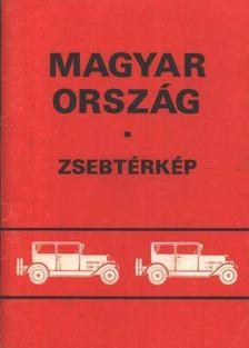 Magyarország zsebtérkép [antikvár]