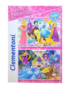 Clementoni Puzzle 2x20 Hercegnők