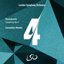 SHOSTAKOVICH - SYMPHONY NO.4 CD NOSEDA