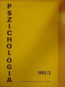 Bagdy Emőke - Pszichológia 1982/2. [antikvár]
