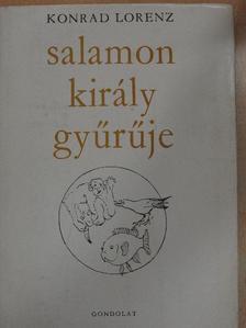 Konrad Lorenz - Salamon király gyűrűje [antikvár]
