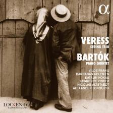 VERESS, BARTÓK - STRING TRIO, PIANO QUINTET CD VILDE FRANG