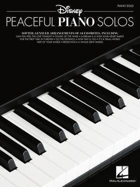 DISNEY PEACEFUL PIANO SOLOS. ARR. J. CLEVELAND