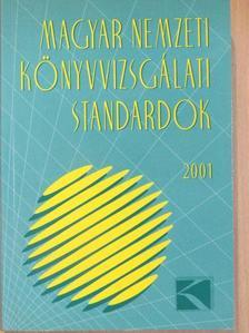 Bertáné Dr. Szabó Mária - Magyar Nemzeti Könyvvizsgálati Standardok 2001 [antikvár]