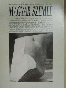 András Károly - Magyar Szemle 2001. augusztus [antikvár]