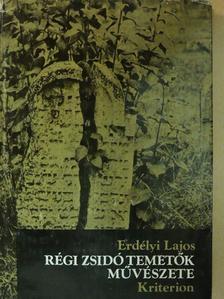 Dr. Samuil Goldenberg - Régi zsidó temetők művészete [antikvár]