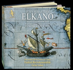 ELKANO - THE FIRST VOYAGE THE WORLD 2CD SOLINIS
