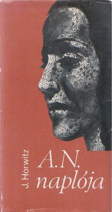 Horwitz, Julius - A. N. naplója [antikvár]