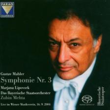 MAHLER - SYMPHONIE NR.3 2CD MEHTA