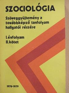 Andorka Rudolf - Szociológia I/2. [antikvár]