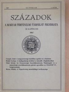 A. Ursula - Századok 1987/1. [antikvár]