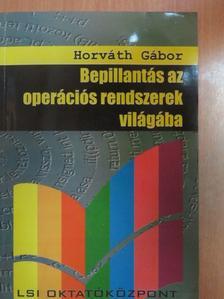 Horváth Gábor - Bepillantás az operációs rendszerek világába [antikvár]
