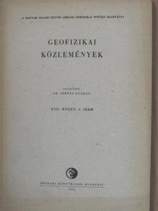 Ádám Oszkár - Geofizikai Közlemények 1964/3. [antikvár]