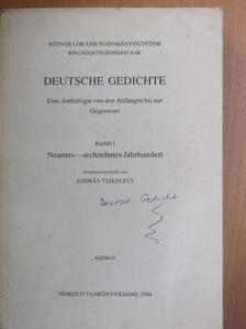Friedrich von Hausen - Deutsche Gedichte I. [antikvár]