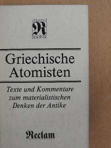 Demokritosz - Griechische Atomisten [antikvár]