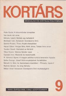 Bécsy Tamás - Kortárs 1984, XXVI. évf. 2. szám [antikvár]