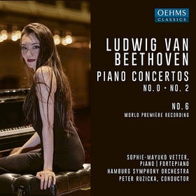 BEETHOVEN - PIANO CONCERTOS NO.0, 2 & 6 CD RUZICKA