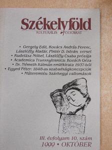 Egyed Péter - Székelyföld 1999. október [antikvár]