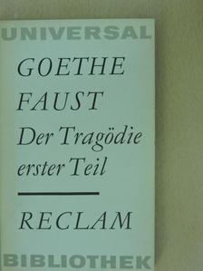 Johann Wolfgang Goethe - Faust I. [antikvár]