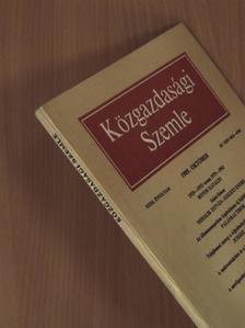 Botos Katalin - Közgazdasági Szemle 1985. október [antikvár]