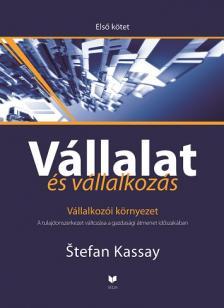 Kassay, Stefan - VÁLLALAT ÉS VÁLLALKOZÁS - ELSŐ KÖTET - VÁLLALKOZÓI KÖRNYEZET