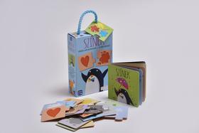 NINCS! - Színek - Verses lapozókönyv + 10 pár kirakó